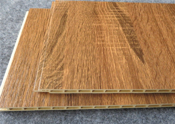 Bamboo WPC Wall Panel , Interior Decorative Integrated Wallboard Panel
